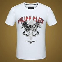 2018 Men  Cheap  Philipp Plein  T Shirt hot sale ♂027