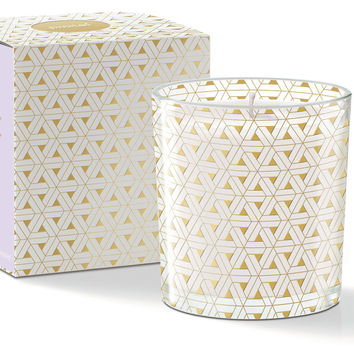 Triangle Candle, Lilac, Filled Candles