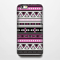 Aztec Pink Geometric  iPhone 6 Plus 6 5S 5C 5 4 Protective Case  #117