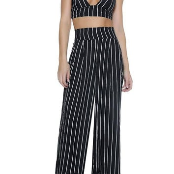 ESQ Pant Two - Piece Black