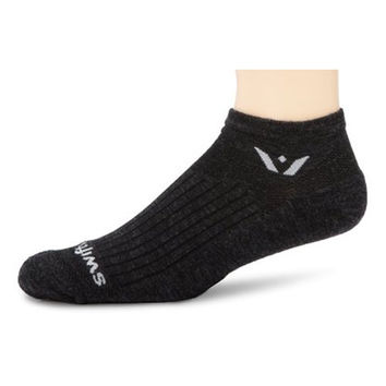 Swiftwick Compression Socks-Wool Pursuit coal