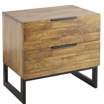 Pierce Bedside Chest - Java
