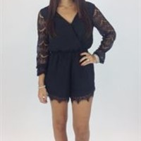 Junky Trunk Boutique. Girls Night Out Lace romper
