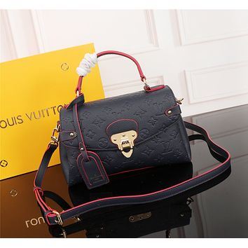 LV Louis Vuitton MAGICLOOK ON THE GO Inspired Style Women Handbag Tote Shoulder Extremely Large 33x23x15 cm Bag Brown Monogram Plus Reverse Universal Color Organizer Onthego Bag made of Canvas