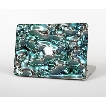 The Teal Mercury Skin Set for the Apple MacBook Pro 13""
