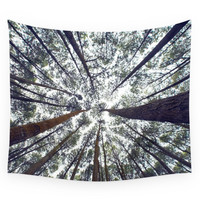 Society6 Light Through The Trees Wall Tapestry
