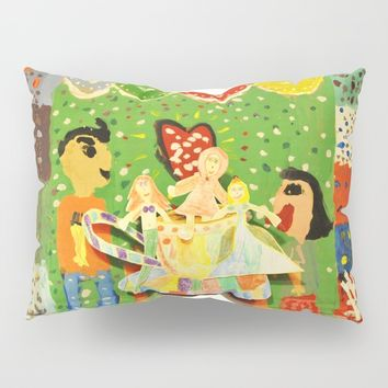 The cup of Rosalia | Full of fairy tales | Painting by Elisavet Pillow Sham by Azima