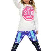 Dirtee Hollywood Dance Don't Stop Dancing Top | Mod Angel