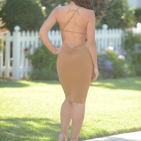 Nikki Dress - Nude