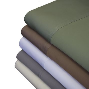 Queen TAUPE TENCEL Eucalyptus Abripedic Soft & Cool Sheets