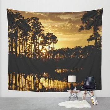 Florida Sunset Wall Tapestry - 4 Sizes