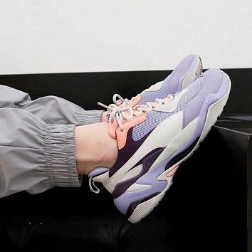 PUMA 2019 new women's models wild mesh breathable old shoes sneakers Purple