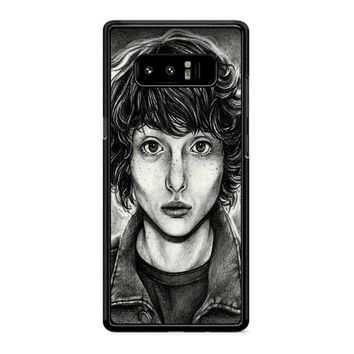 Finn Wolfhard Art Samsung Galaxy Note 8 Case