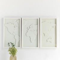 Umbra Mapster Framed Wall Art Set