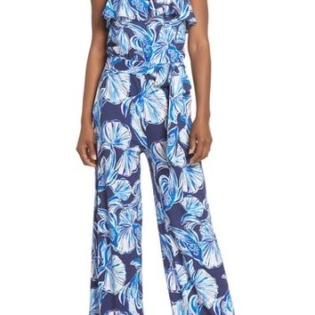 Lilly Pulitzer® Aleatha Strapless Jumpsuit | Nordstrom