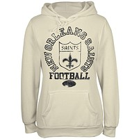 New Orleans Saints - Old School Logo Juniors Hoodie