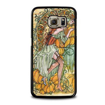 cinderella art disney samsung galaxy s6 case cover  number 1