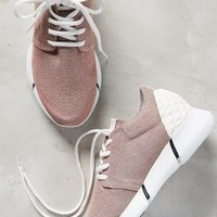 Elena Iachi Calu Shimmered Sneakers Pink
