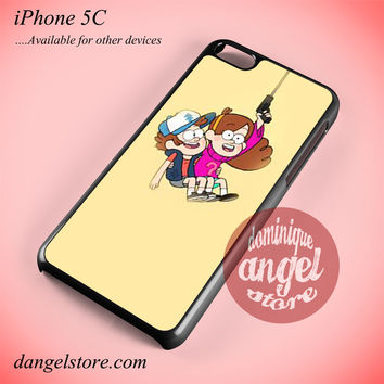 Gravity Falls Dipper And Mabel Phone case for iPhone 5C and another iPhone devices