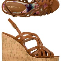 MADDEN GIRL ELIITE STRAPPED IN WEDGE