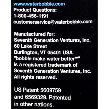 Bobble Filtered Water Bottle - Lime - 18.5 oz/.55 liter