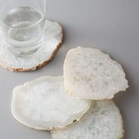 Clouded Agate Coasters (Set of 4)