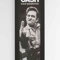Johnny Cash San Quentin Framed Wall Art