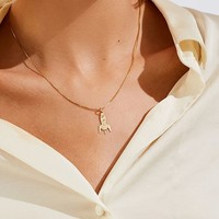 MALAIKARAISS Rocket Charm Necklace | Urban Outfitters