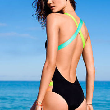 Neon-strap One-piece - Beach Sexy - Victoria's Secret