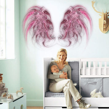 Angel wings Full Color Decal, Angel Full color sticker,colored wings gc128