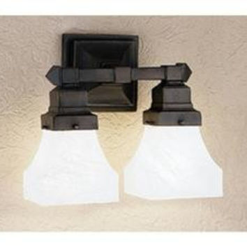 13 Inch W Country Bungalow 2 Lt Wall Sconce Wall Sconces