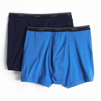 Jockey 2 Pack Big and Tall Cotton Boxer Briefs