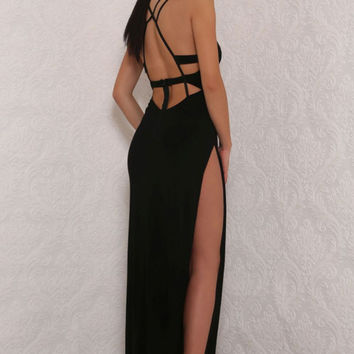 Theia Gown Black