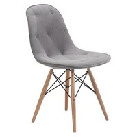 Zuo Probability Dining Chair - Gray