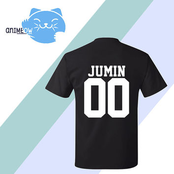 Jumin Mystic Messenger Inspired Game Jersey Style T-Shirt