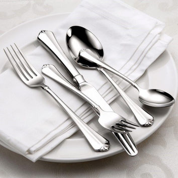 Oneida Juilliard 45 Piece Fine Flatware Set, Service for 8