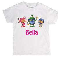 Personalized Childrens Team Umizoomi Shirt