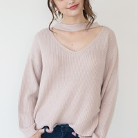 Gigi Sweater - Blush