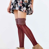 Tonal Scrunch Over-The-Knee Sock-