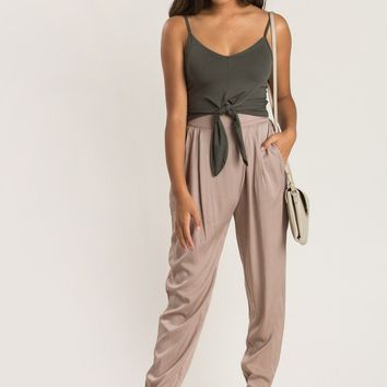 Alexis Olive Cropped Cami