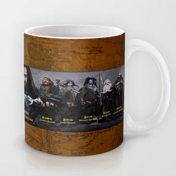 the dwarves,hobbit,lord of the rings,thorin,#thehobbit, #lordoftherings Mug by Ira Gora