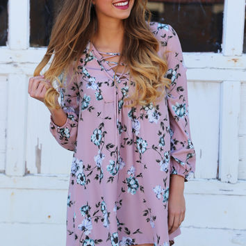 Dreaming In Florals Dress