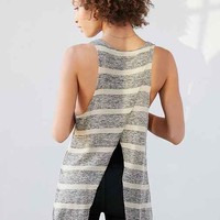 Project Social T Striped Tulip-Back Tank Top