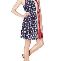 Liberty Belle Tie-Back Dress