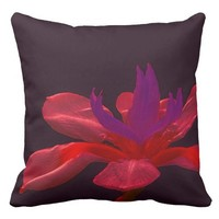 Beautiful flower, on a throw pillow