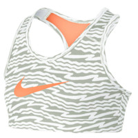 Nike Girls Youth Hypercool Bra in Orange | Lacrosse Unlimited