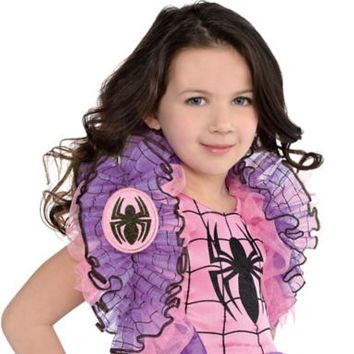 Child Spider-Girl Shrug | Party City