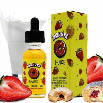 Strawberry Donuts - D'ohnuts E Juice