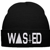 wasted snapback wasted beanie wasted cap hat knit cap