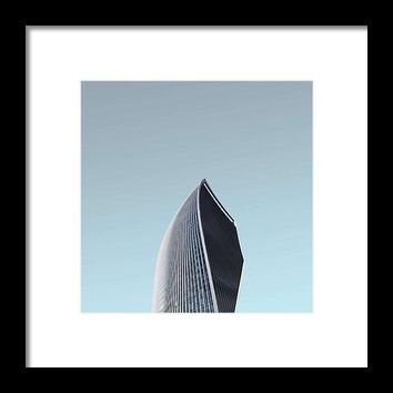 Urban Architecture - Sky Garden, London, United Kingdom - Framed Print
